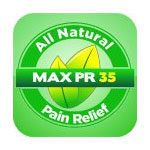 Max Pr 35 All Natural Pain Relief